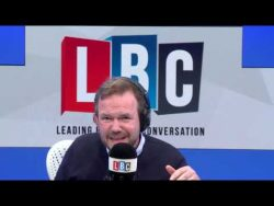 James O'Brien's Brexit Call Labelled The Funniest And Scariest Yet