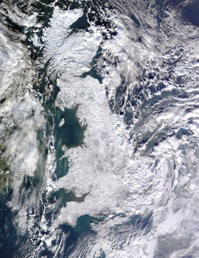 Great Britain during the winter of 09-10