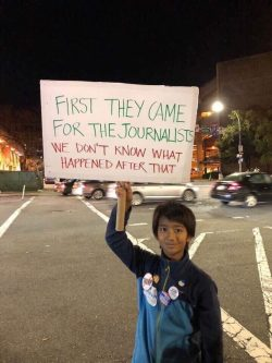 First they came for the journalists