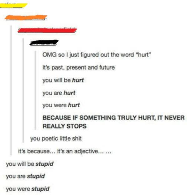 There was an attempt to be poetic
