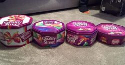 Celebrations, Quality Street and Roses shrink again despite price staying same