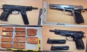 Police struggle to stop flood of firearms into UK