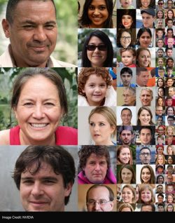 These are all faces made by NIVIDIA's neuro-network, none of them are real.