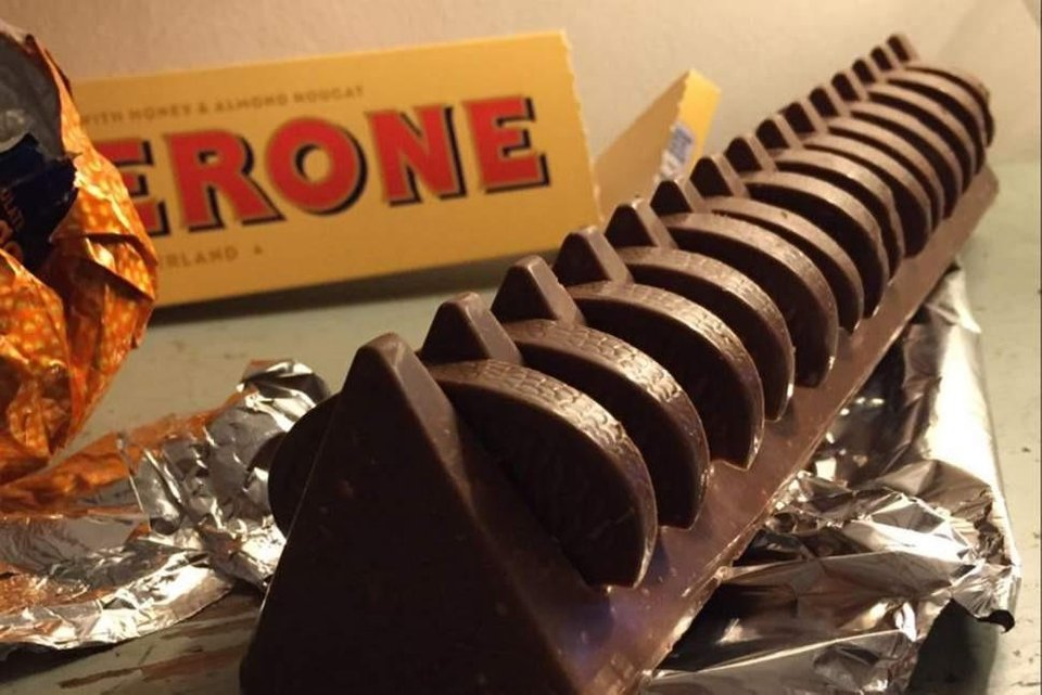I present to you the Toblerange! Finally a use for the big gaps in a Toblerone.