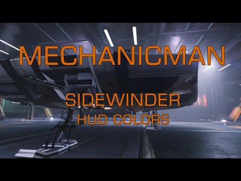 What's REALLY involved with changing the color of your ship's HUD? Join MechanicMan as he walks you step by step through the process, with absolutely no issues whatsoever. This is MechanicMan – Sidewinder!