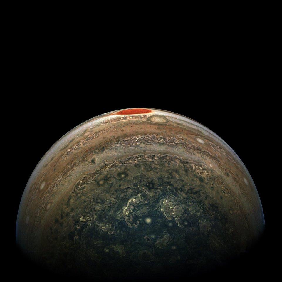 Jupiters red spot