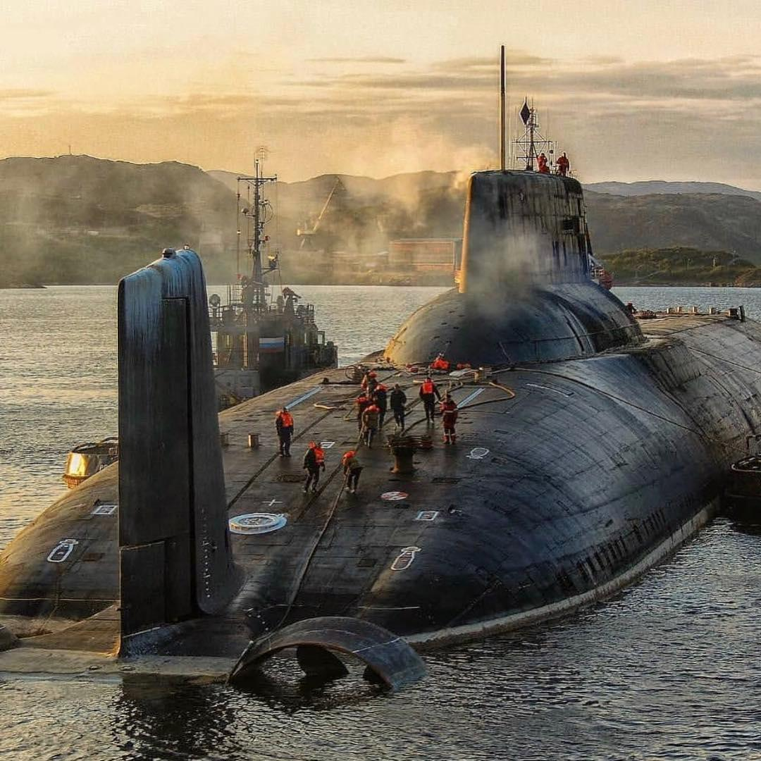 Submarines are BIG