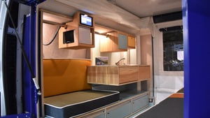 PlugVan voice-controlled camper module gives you a cozy camper van without tying you to a van