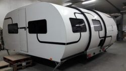 Beauer's latest expanding camping trailer sleeps a family of six