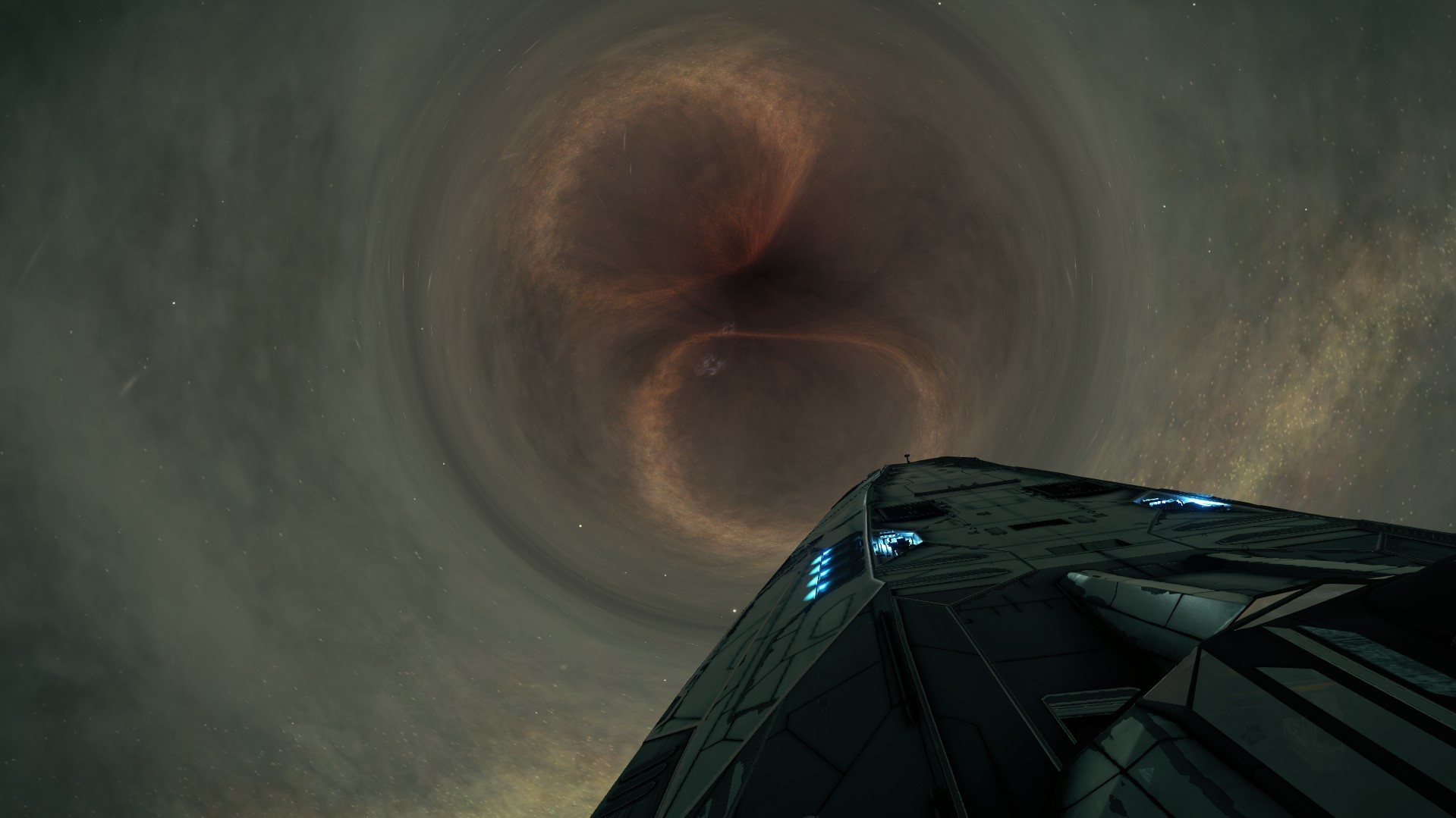 25,000 light years and 800 jumps later, finally at Sag A*