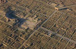 Timgad, Algeria built by Trajan 100 AD