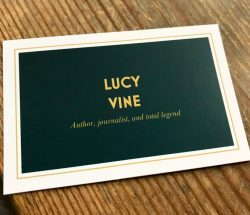 Nice business card design