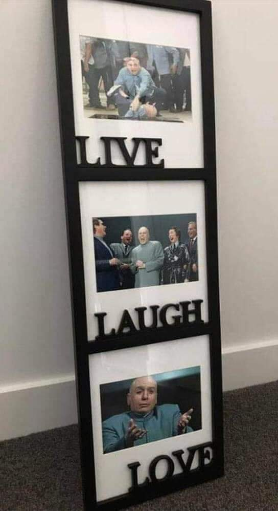 Perfick Live Laugh Love