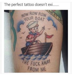 The perfect tattoo doesnt exi……