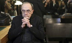 French cardinal found guilty of covering up sexual abuse