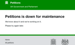 Petitions site crashes after 600,000 back call to revoke article 50