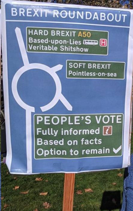Best Brexit Placard so far?