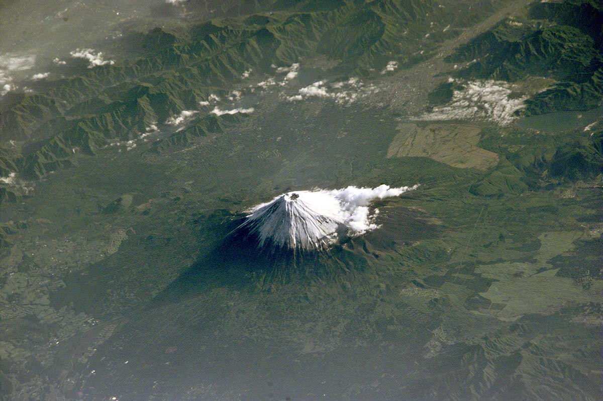 Mt. Fuji from the ISS