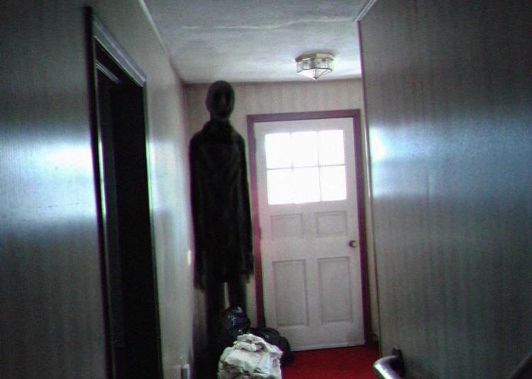 creepy visitor