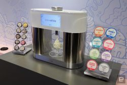 LG's SnowWhite is like a Keurig for ice cream. It is only a prototype at this point.