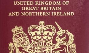 UK removes words 'European Union' from British passports