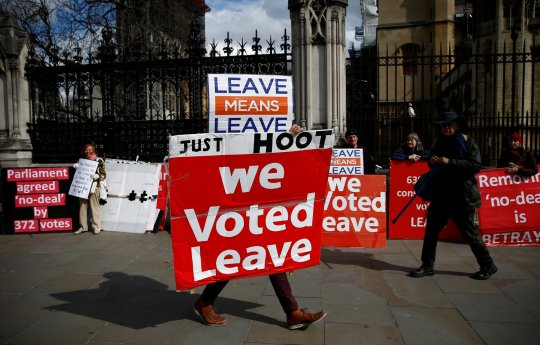 Britain already £66,000,000,000 poorer because of Brexit