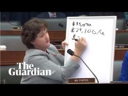 Congresswoman grills billionaire CEO over pay disparity at JP Morgan