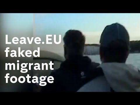 Revealed: How Leave.EU faked migrant footage CH4