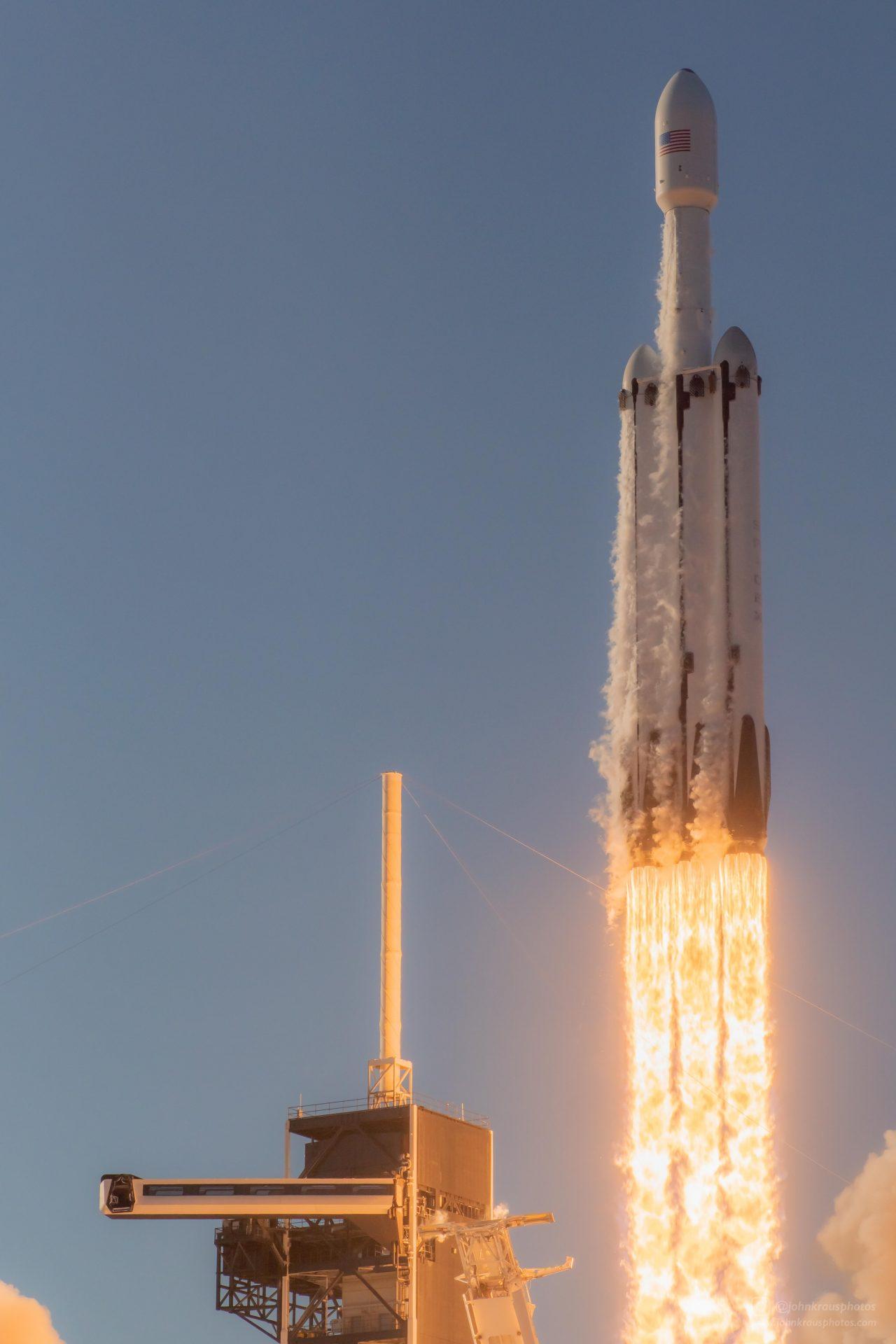 Falcon heavy 2nd launch