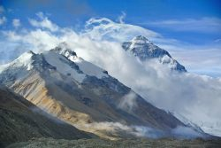 Everest from base camp 1
