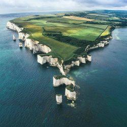 The majestic Jurassic Coast, Dorset, UK