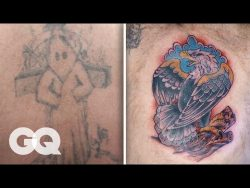 The Tattoo Artist Who Covers Racist Tattoos | Beneath the Ink | GQ Stories