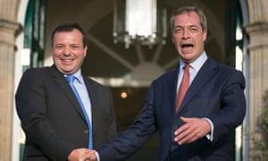 Arron Banks 'gave £450,000 funding to Nigel Farage after Brexit vote'