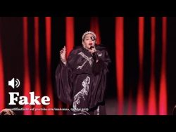 Madonna autotuned her atrocious Eurovision performance before uploading it to her YouTube channe ...
