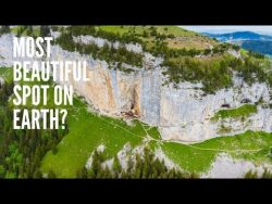 Aescher Wildkirchli, Switzerland 4k – A place to see before you die | DJI Mavic 2 Pro