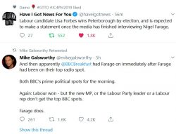 BBC, the conservative propaganda channel funded by morons, sorry, I meant, the public