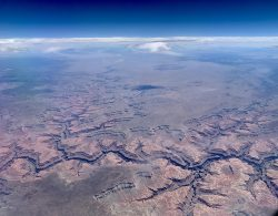 Grand Canyon from 30,000ft