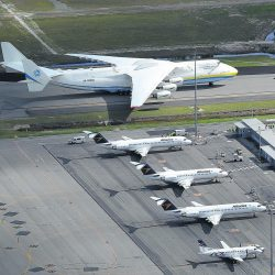 The Antonov 225, the heaviest and most powerful plane ever built