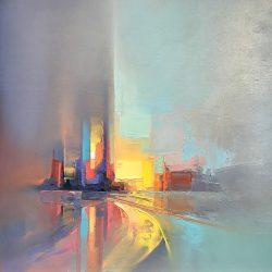 Glide, Jason Anderson, Oil, 2019