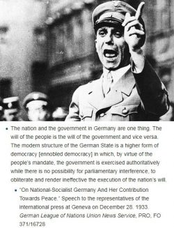 Mr Alexander Boris de Pfeffel Johnson, You understand democracy as Goebbels did. Here's ho ...