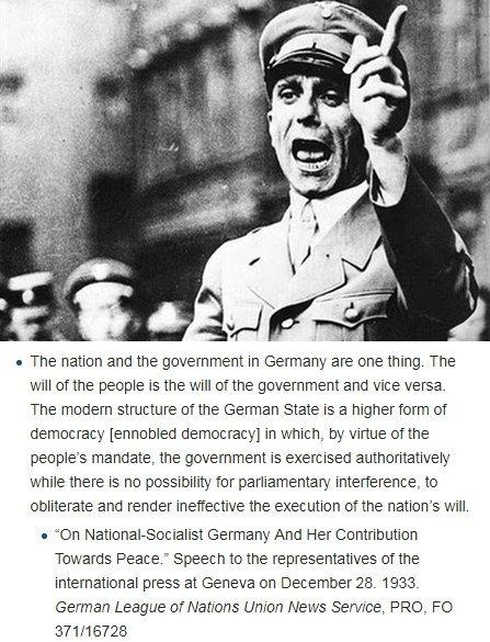 Mr Alexander Boris de Pfeffel Johnson, You understand democracy as Goebbels did. Here's ho ...