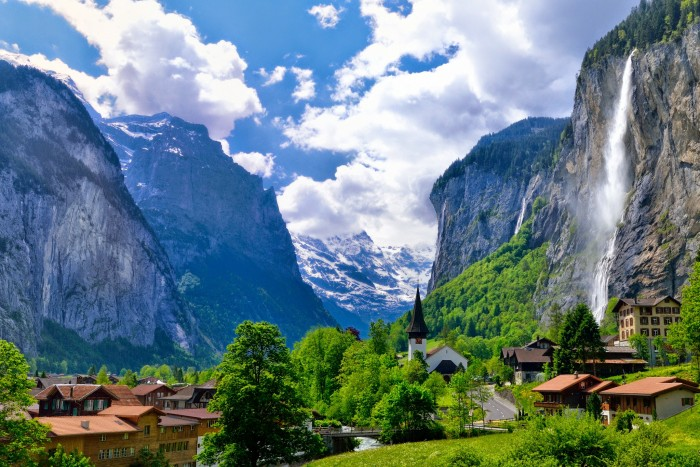 """Lauterbrunnen: The Valley of 72 Waterfalls … """"Tucked away in the Bernese Oberland of ..."""