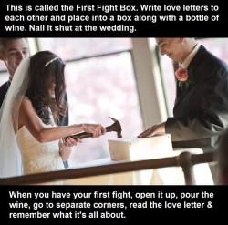 Brilliant idea, first fight box