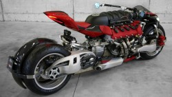 Lazareth LM 847: The 470-horsepower, tilting 4-wheel motorcycle you've been waiting for