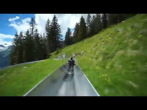 Switzerland Mountain Coaster – YouTube