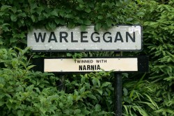 The villagers of Warleggan have a sense of humour