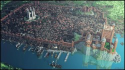 Kings Landing made in Minecraft