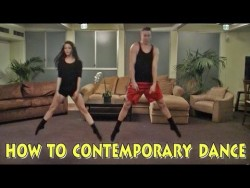 Contemporary Dance How-To HILLARIOUS – YouTube