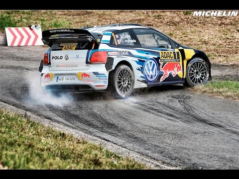 Highlights – 2016 WRC Rallye Deutschland – Michelin Motorsport – YouTube