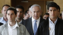In NY, Netanyahu goes to the bathroom with 20 guards   The Times of Israel